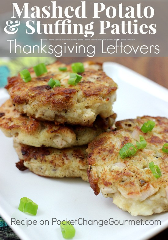 Mash Potatoes Recipe Thanksgiving  Mashed Potato & Stuffing Patties