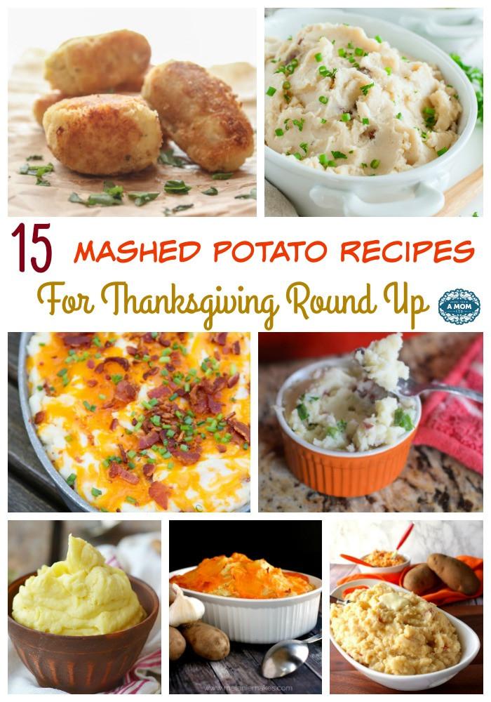 Mashed Potatoes Recipe Thanksgiving  15 Mashed Potato Recipes For Thanksgiving Round Up