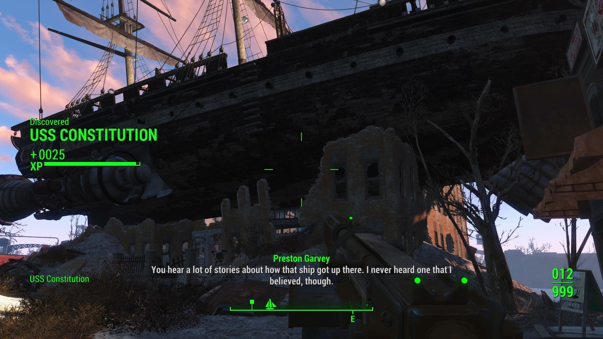 Mean Pastries Fallout 4  U S S Constitution