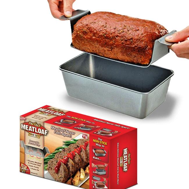 Meatloaf Falls Apart  Perfect Meatloaf Pan Set Meatloaf That Never Falls Apart