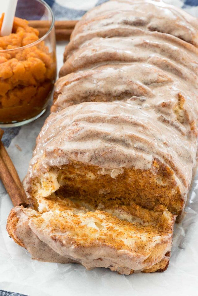 Meatloaf Falls Apart  Perfect Pumpkin Pull Apart Loaf