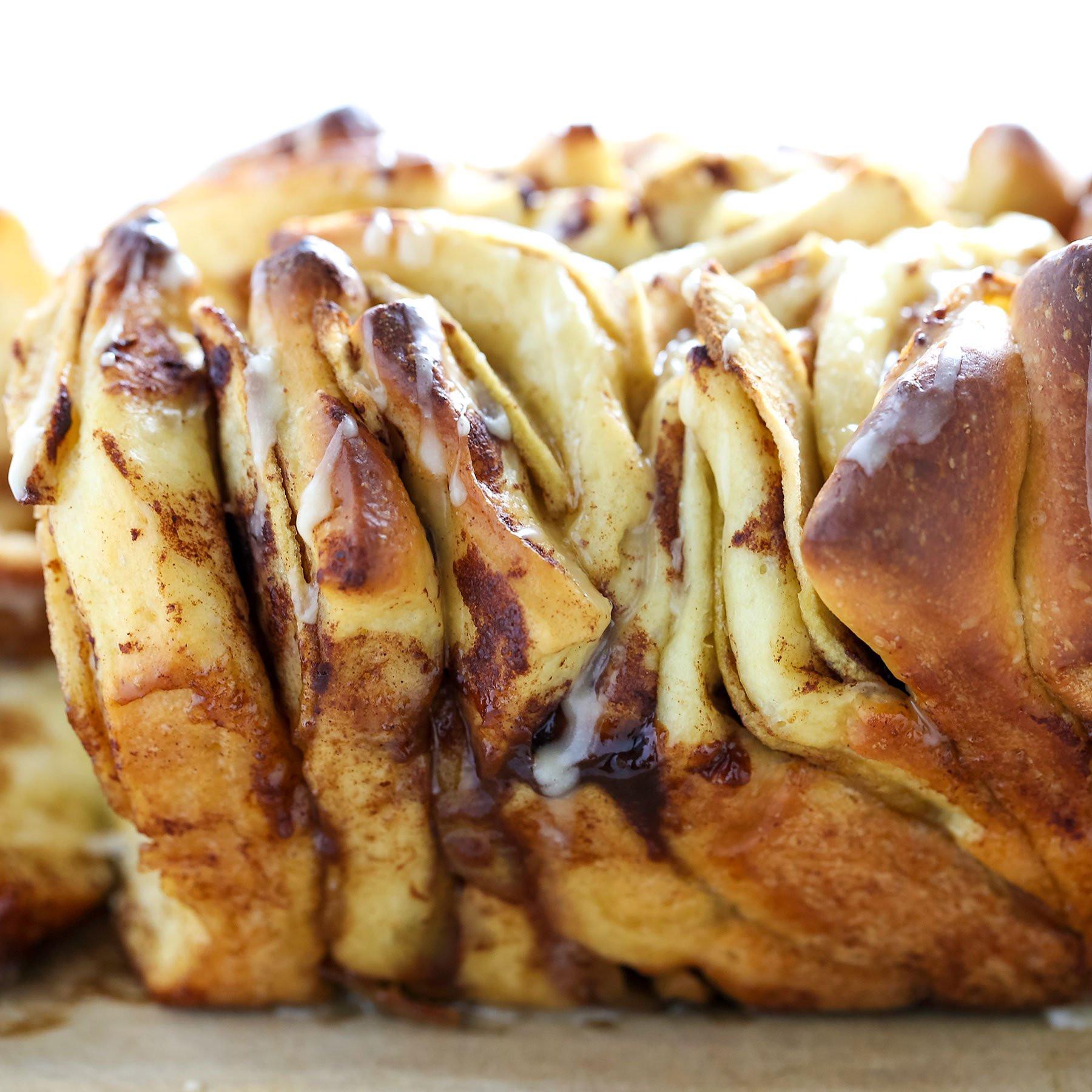 Meatloaf Falls Apart  Apple Pie Pull Apart Loaf Handle the Heat