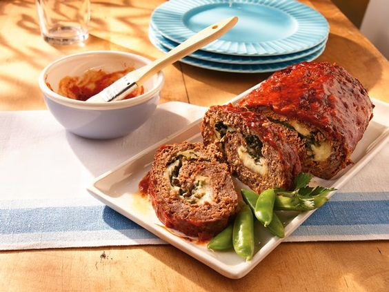 Meatloaf Falls Apart  Italian cheese Stuffed meatloaf and Charts on Pinterest