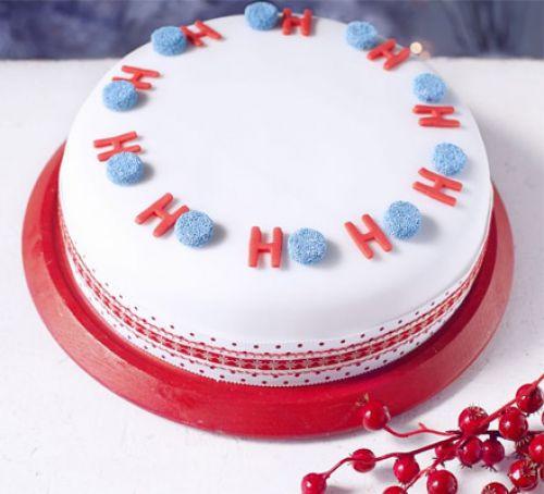 Merry Christmas Cakes  Ho Ho Ho Merry Christmas cake recipe