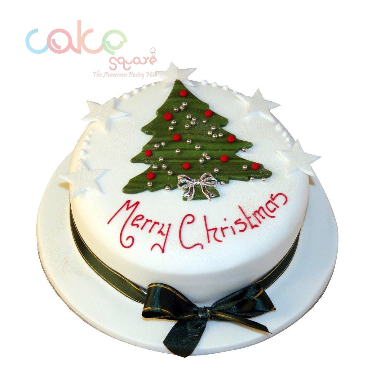 Merry Christmas Cakes  1 Merry Christmas Cake Decoration