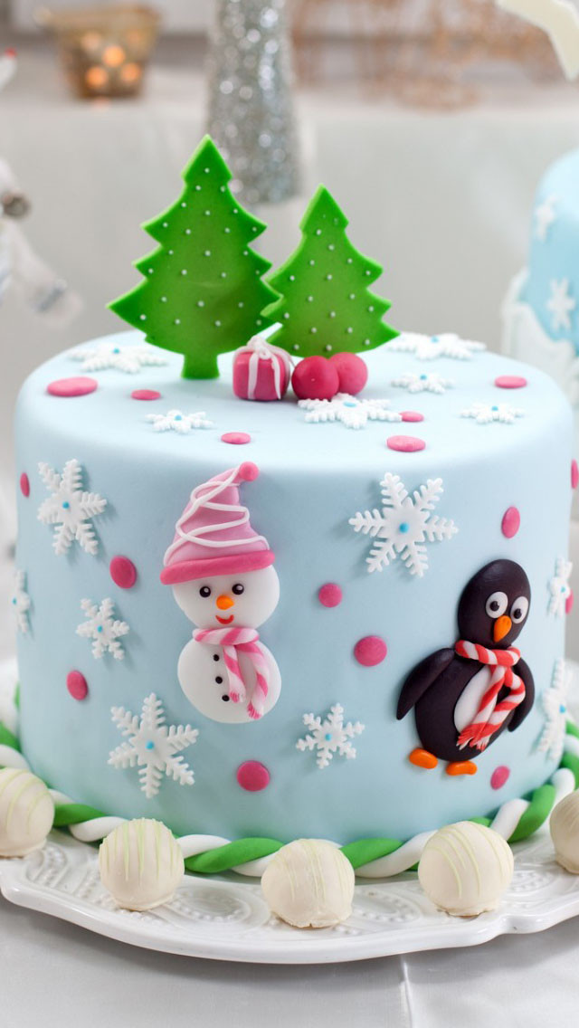 Merry Christmas Cakes  Merry Christmas Cake Wallpaper Free iPhone Wallpapers