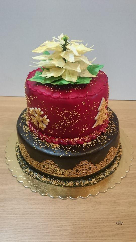 Merry Christmas Cakes  Merry christmas cake by Alexsa CakesDecor
