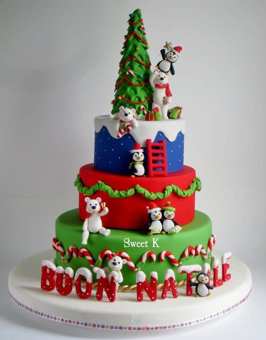 Merry Christmas Cakes  Merry Christmas cake by Karla Sweet K CakesDecor