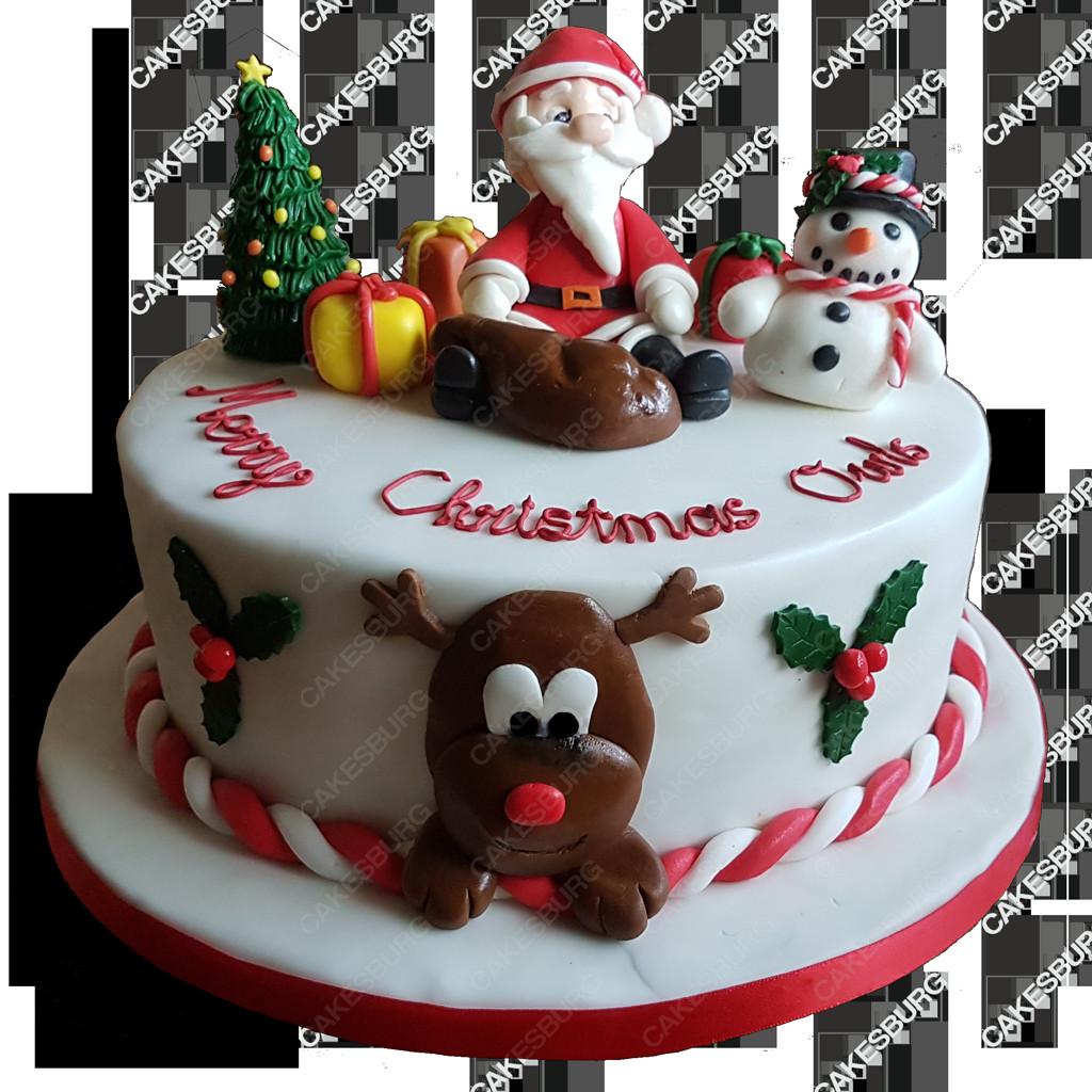 Merry Christmas Cakes  Merry Christmas Cake 1 – CAKESBURG