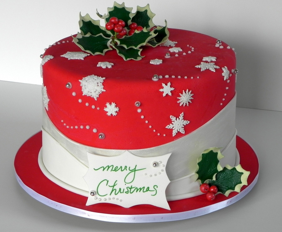 Merry Christmas Cakes  Merry Christmas CakeCentral