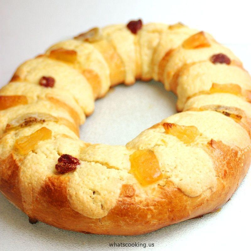 Mexican Christmas Bread  Rosca de Reyes Recipe