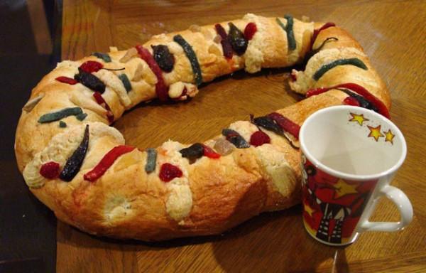 Mexican Christmas Bread  Perdura en Puerto Rico tradición de Rosca de Reyes