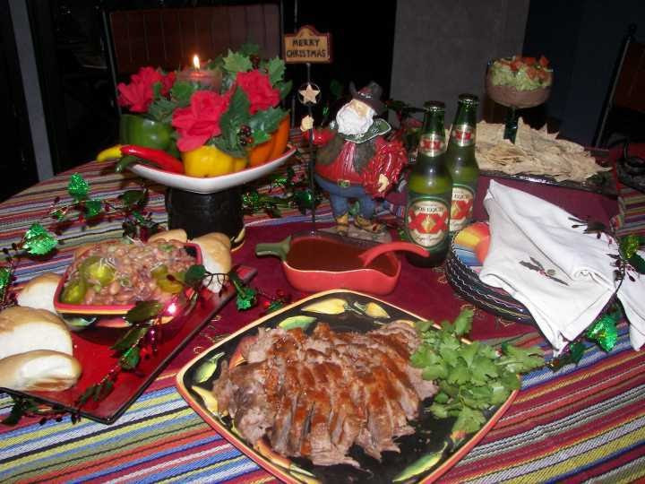 Mexican Christmas Dinners  Aprovécho Mexican American Border Cooking Christmas