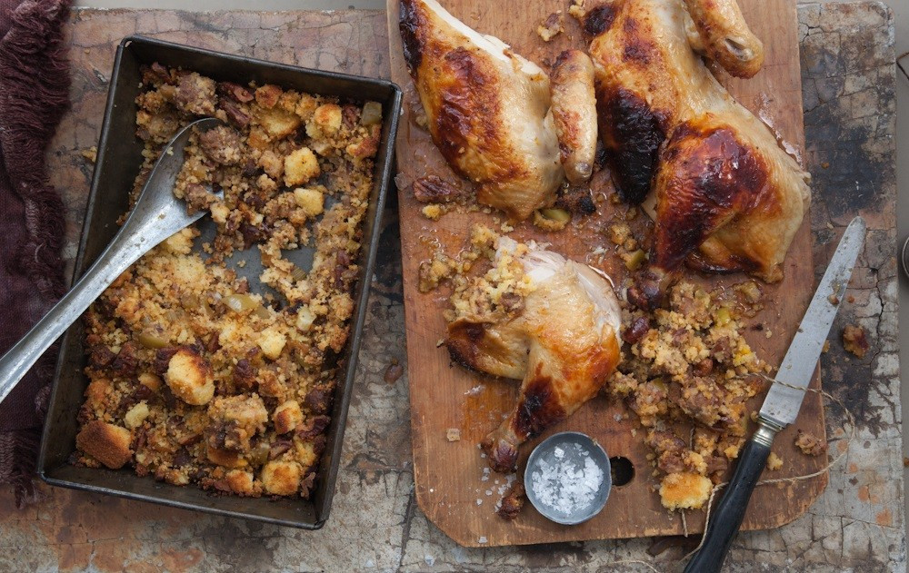 Mexican Thanksgiving Recipes  For a Mexican twist on Thanksgiving cook the turkey in