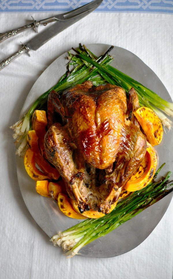 Mexican Thanksgiving Recipes  Lime Poached and Roasted Turkey Recipe