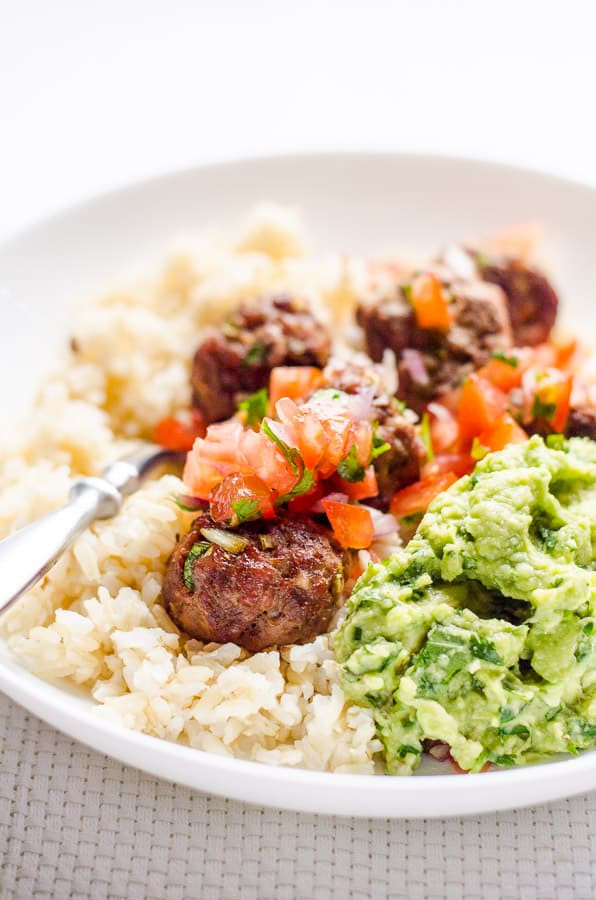 Mexican Thanksgiving Recipes  Mexican Turkey Meatballs iFOODreal Healthy Family Recipes