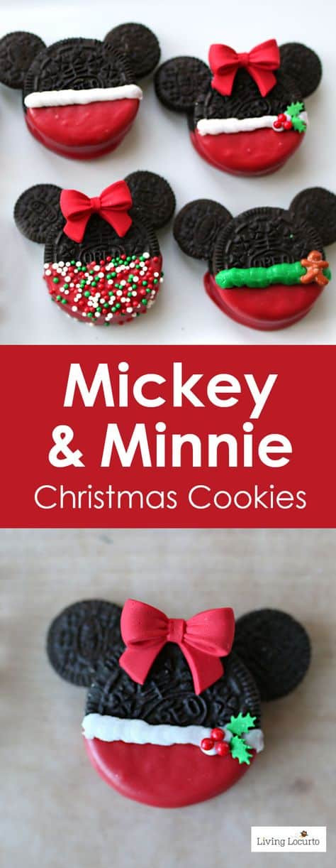 Mickey Christmas Cookies  Disney Christmas Cookies Recipes For Holidays