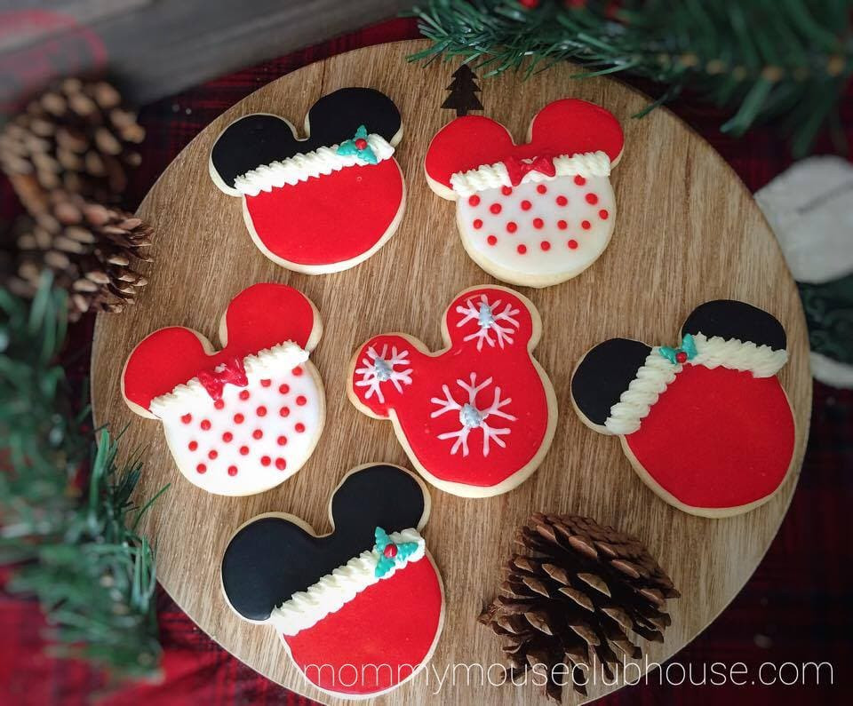 Mickey Christmas Cookies  The BEST Sugar Cookie Recipe The Mommy Mouse Clubhouse