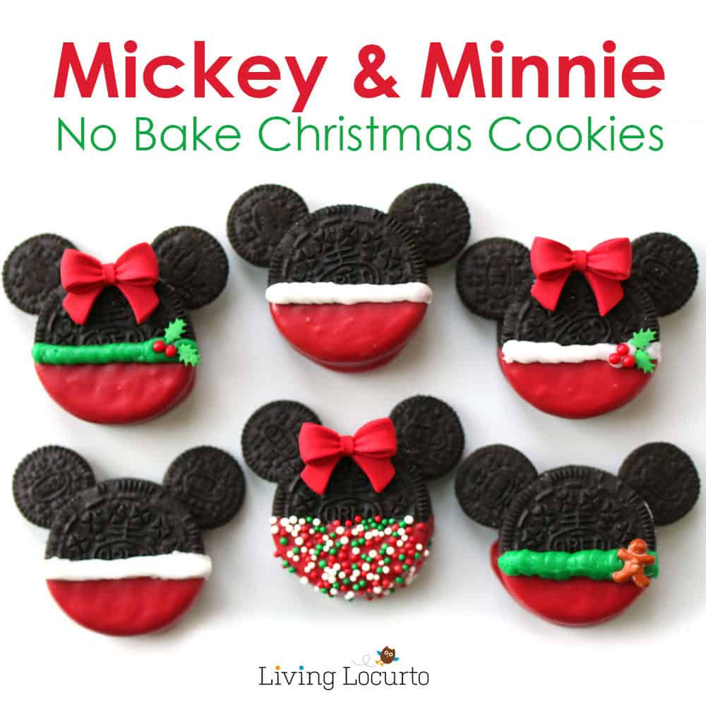 Mickey Christmas Cookies  Mickey & Minnie Mouse Christmas Cookies
