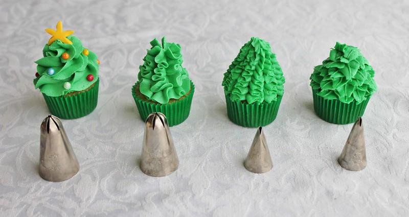 Mini Christmas Cup Cakes  Lydia Bakes Mini Christmas Tree Cupcakes