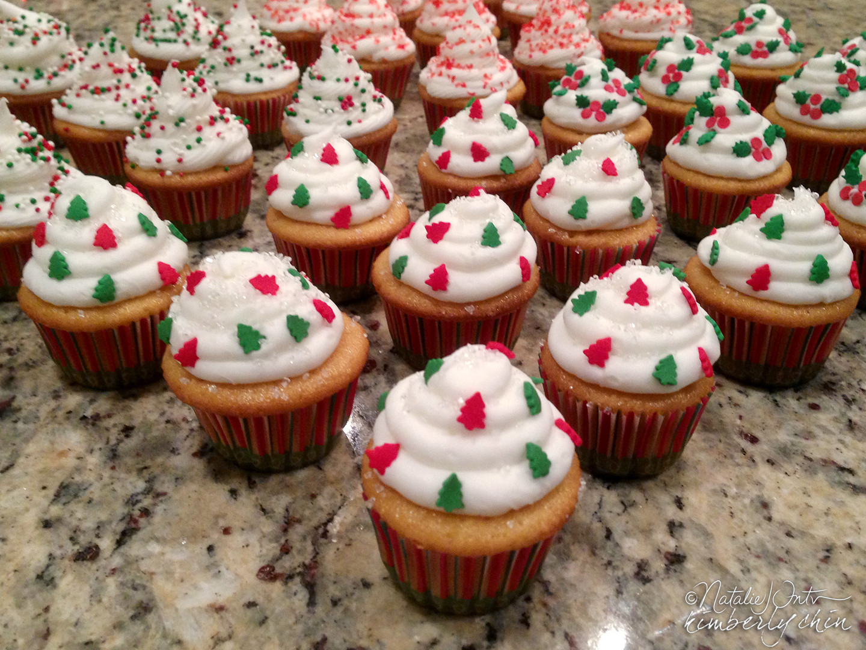 Mini Christmas Cup Cakes  Mini Christmas Cupcakes by Kim and Nat