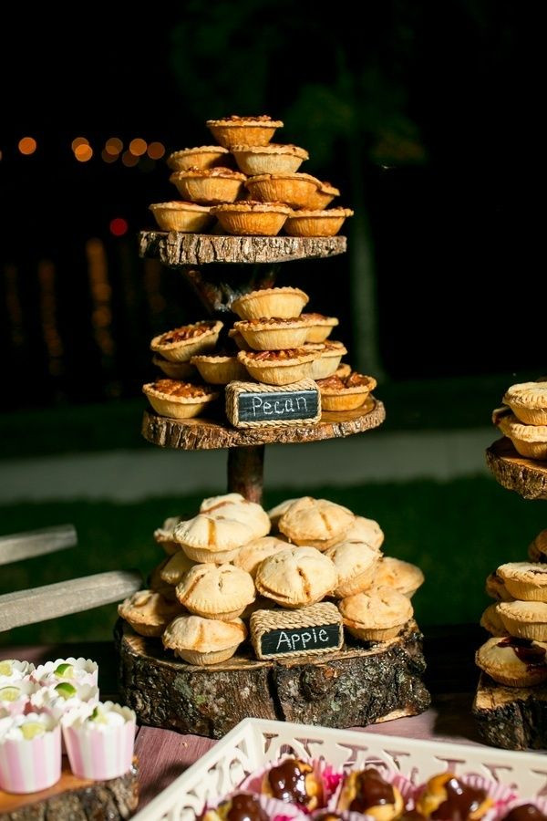 Mini Fall Desserts  Falling In Love With These Great Fall Wedding Ideas
