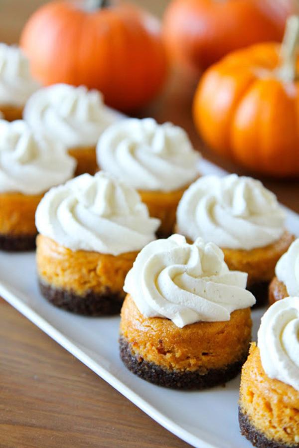 Mini Fall Desserts  Brit Co