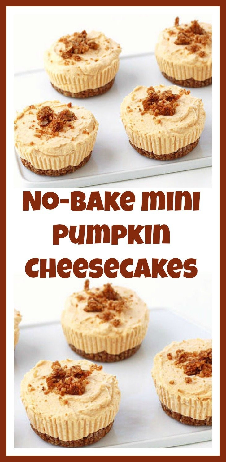 Mini Fall Desserts  Fall Pumpkin Desserts Pumpkin Tart & No Bake Pumpkin