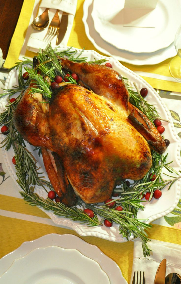 Moist Thanksgiving Turkey Recipe  Delicious moist Thanksgiving turkey brined with Wish Bone