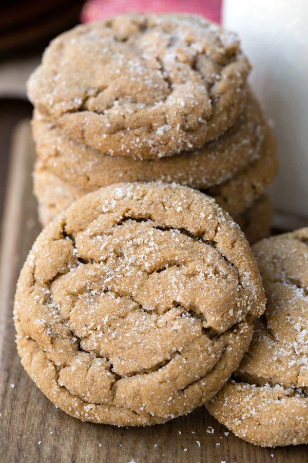 Molasses Christmas Cookies  Best Molasses Cookies Recipe