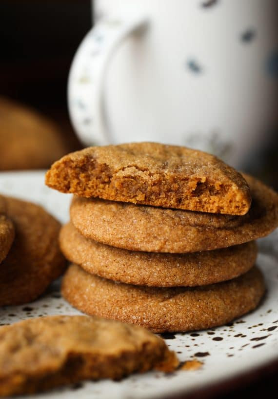 Molasses Christmas Cookies  Soft Molasses Cookies Holiday Baking