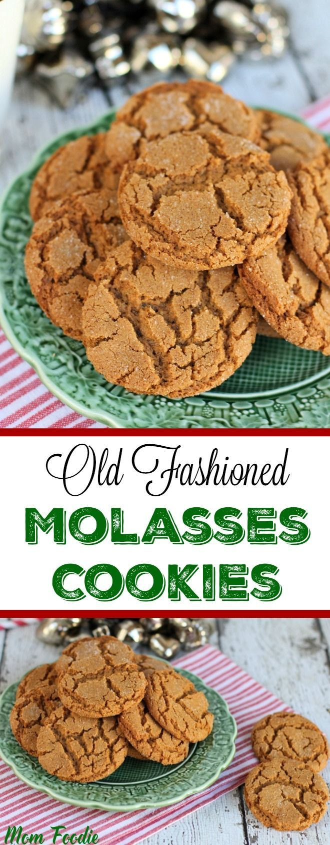 Molasses Christmas Cookies  Old Fashioned Molasses Cookies Traditional cookie that