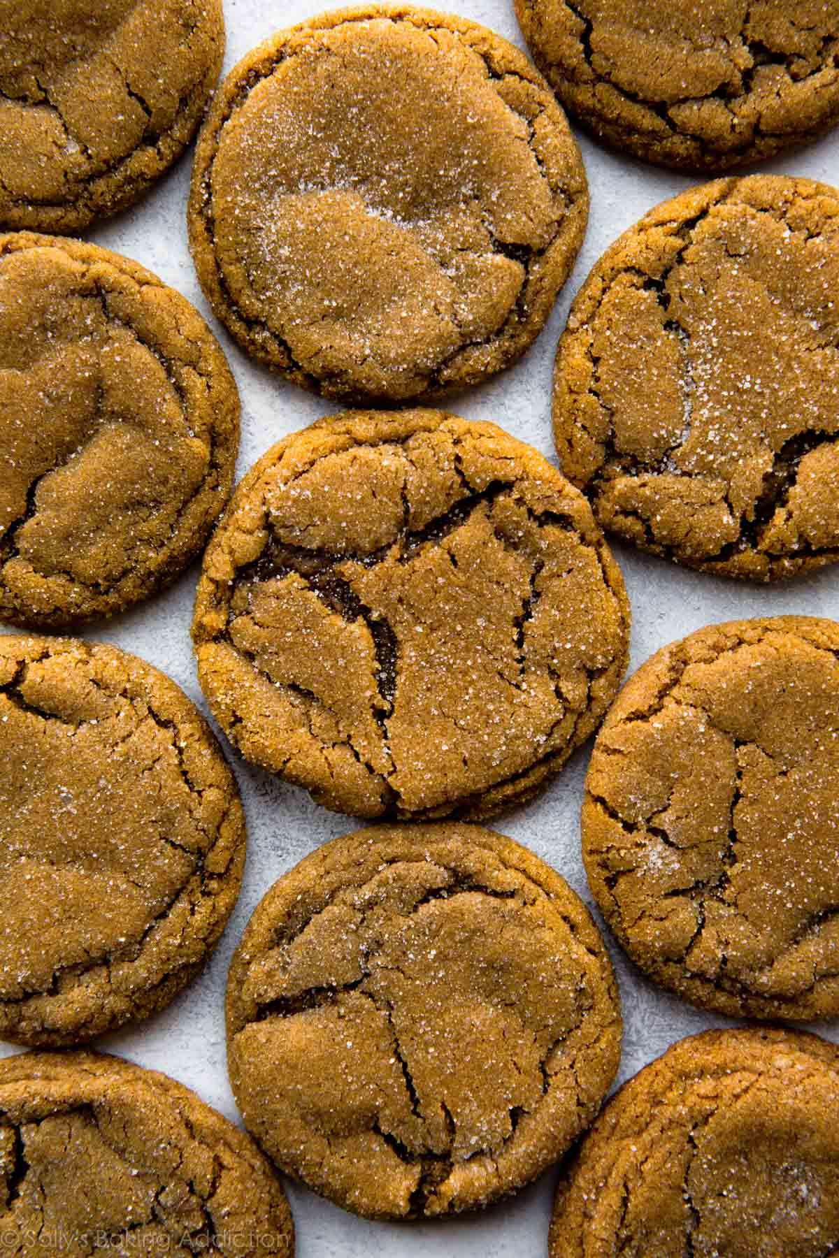 Molasses Christmas Cookies  Seriously Soft Molasses Cookies Sallys Baking Addiction