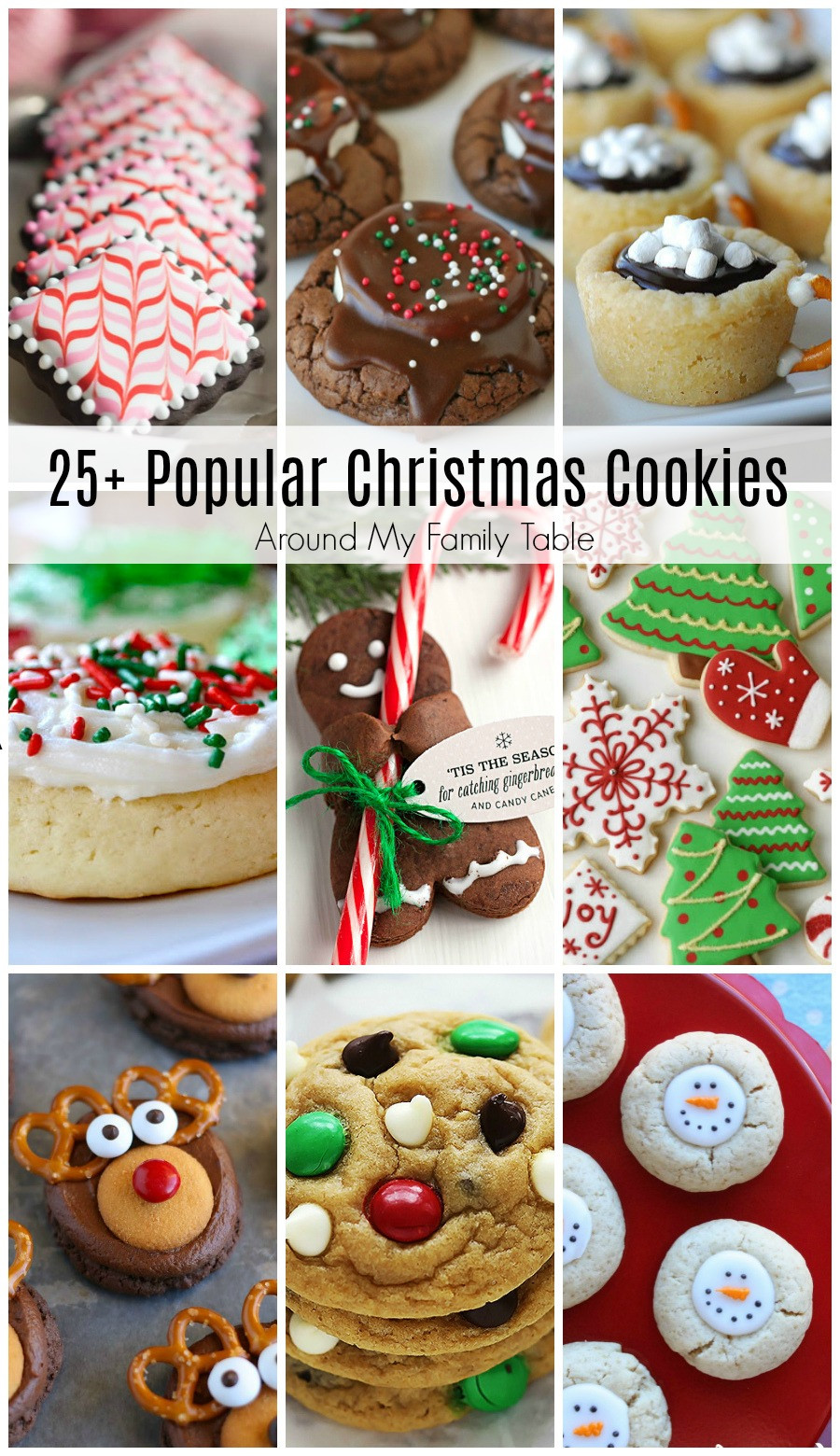 Most Popular Christmas Desserts  Most Popular Christmas Cookie Recipes Around My Family Table