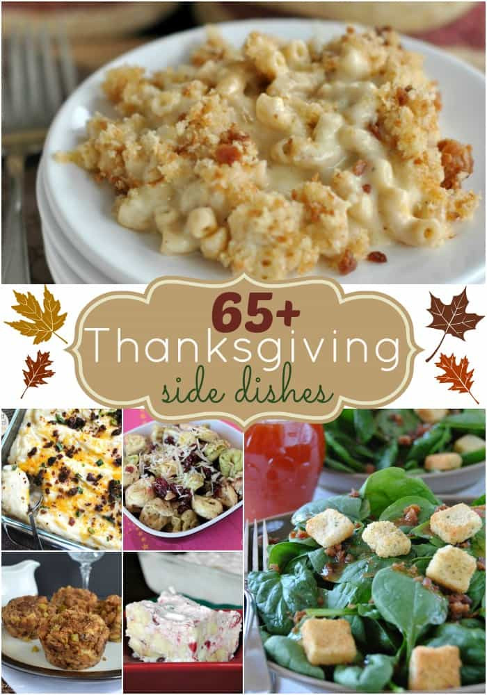 New Thanksgiving Side Dishes  65 Thanksgiving Side Dishes Shugary Sweets