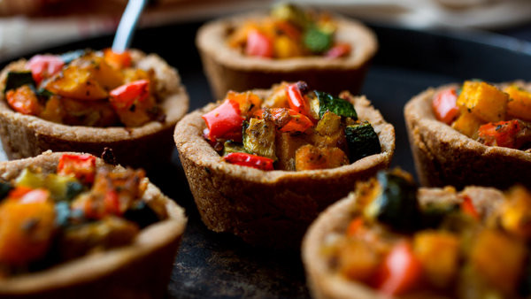 New York Times Vegan Thanksgiving  Ve arian Thanksgiving Ve able Tarts Big and Small