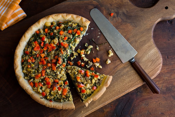 New York Times Vegan Thanksgiving  Ve arian Thanksgiving Easy Mushroom Hazelnut Tart The