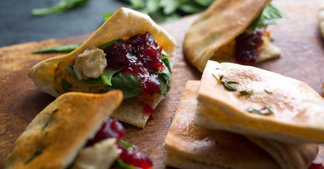 New York Times Vegan Thanksgiving  Ve arian Thanksgiving Sweet Potato Pockets The New