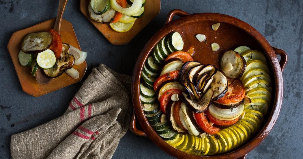 New York Times Vegan Thanksgiving  Ve arian Thanksgiving Squash Eggplant and Tomato Tian