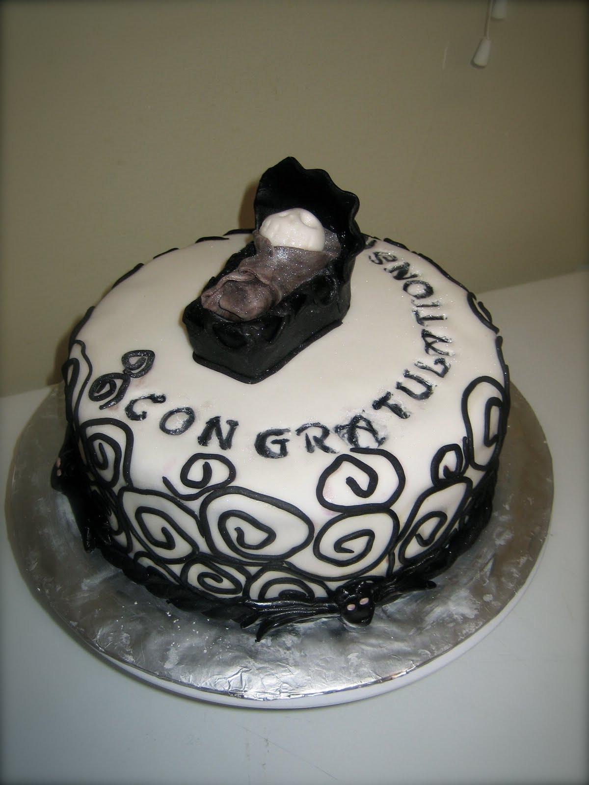 Nightmare Before Christmas Baby Shower Cakes  Sweet & Simple Custom Cake Design April 2011