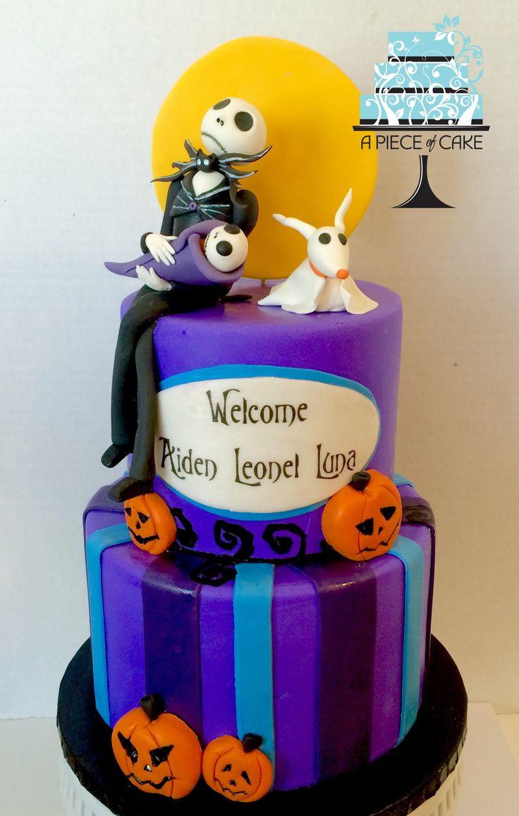 Nightmare Before Christmas Baby Shower Cakes  1000 ideas about Christmas Baby Shower on Pinterest