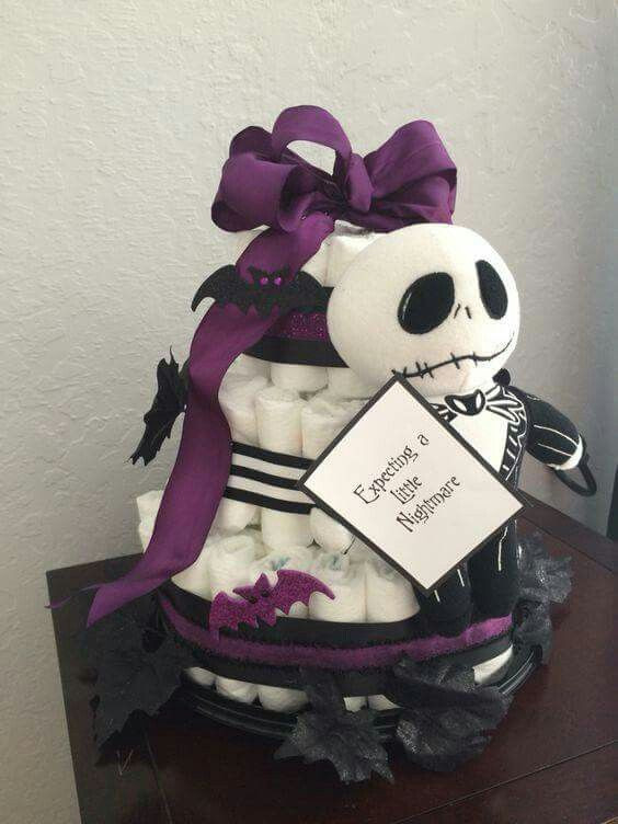 Nightmare Before Christmas Baby Shower Cakes  90 best images about Baby Shower Ideas D on Pinterest