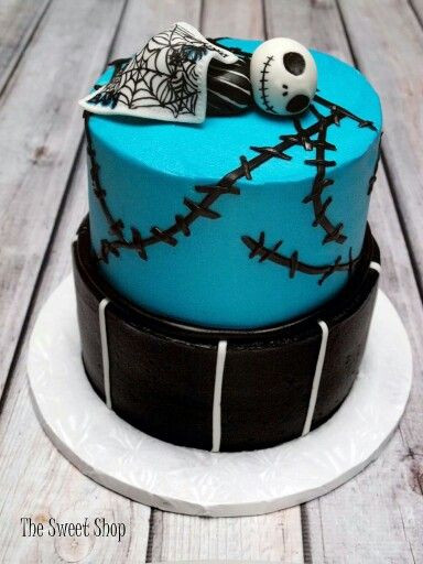 Nightmare Before Christmas Baby Shower Cakes  Pinterest • The world's catalog of ideas