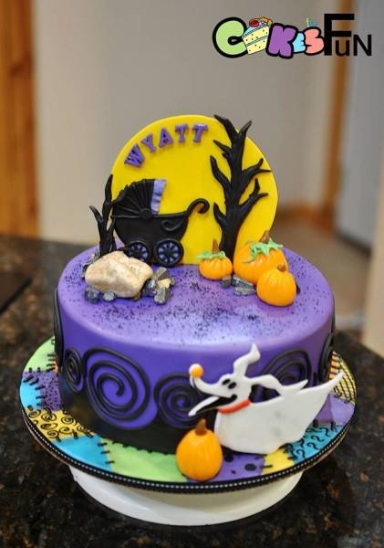 Nightmare Before Christmas Baby Shower Cakes  Nightmare Before Christmas baby Shower Cake Cake