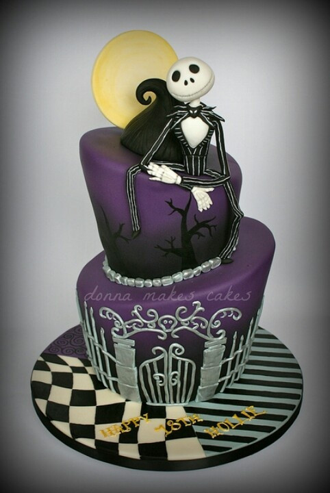 Nightmare Before Christmas Cakes Decorations  39 best Nightmare before christmas cakes images on