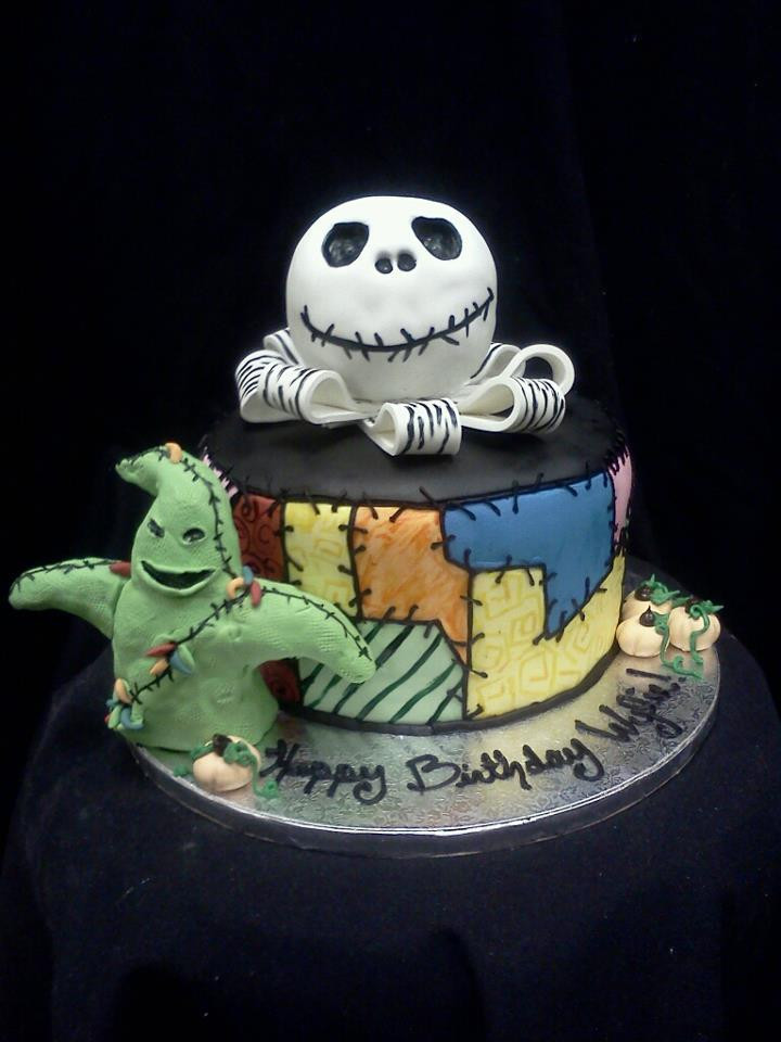 Nightmare Before Christmas Cakes Decorations  Nightmare Before Christmas Cake Cake Decorating