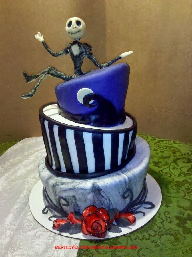 Nightmare Before Christmas Cakes Decorations  Nightmare Before Christmas Cake Ideas 2015 THE MOST