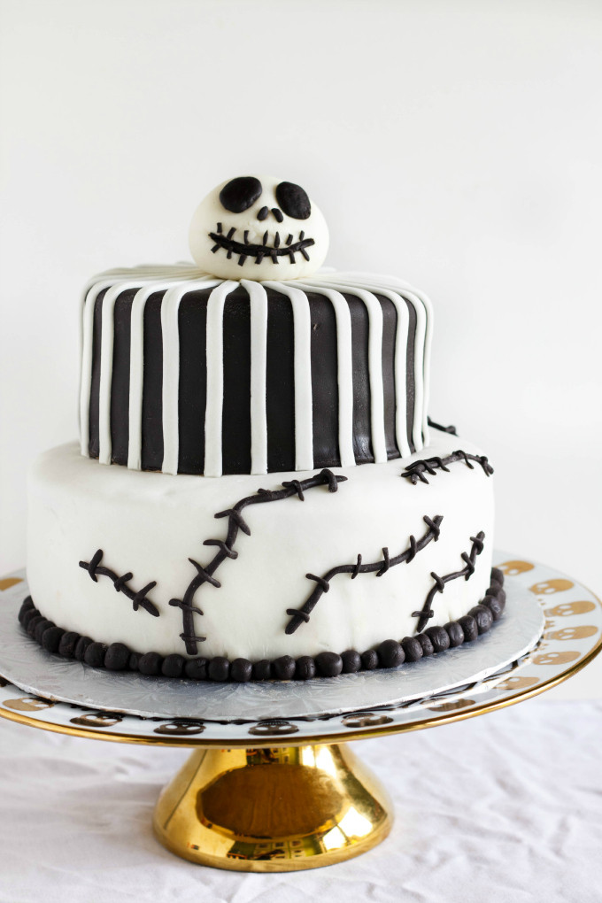 Nightmare Before Christmas Cakes Decorations  Nightmare Before Christmas Cake Jack Skellington Cake