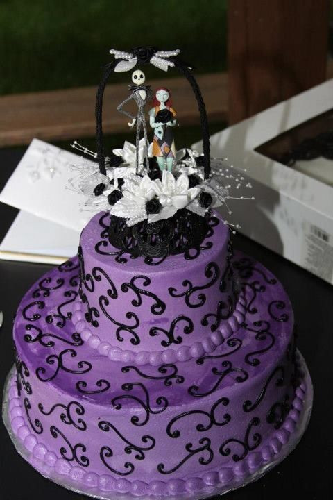 Nightmare Before Christmas Cakes Decorations  Best 25 Nightmare before christmas wedding ideas on
