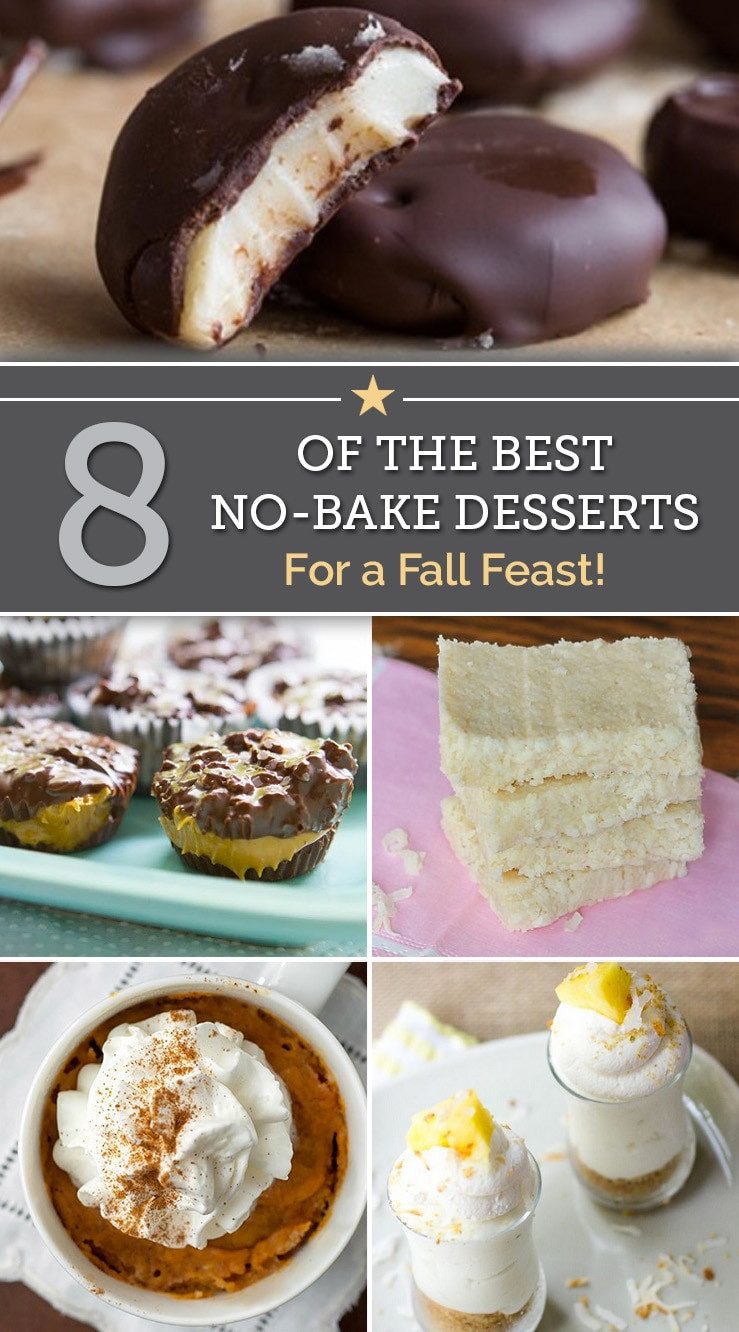 No Bake Fall Desserts  8 of the Best No Bake Desserts for a Fall Feast thegoodstuff